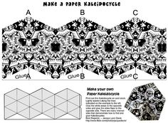Kaleidocycle to print and fold