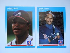 1987 Fleer Update Atlanta Braves Team Set Of 2 Baseball Cards #AtlantaBraves