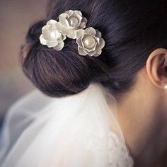 Coiffure mariage : wedding veils and hairstyles  Google Search