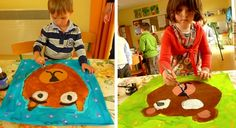 Winter Art Projects, Projects For Kids, Eric Carle, Art Plastique, Book Activities, Art Lessons, Art For Kids, 3 D, Fairy Tales