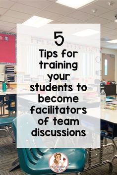 Do you find it difficult to teach your students how to have collaborative conversations where they allow ONE person to talk at a time?  Do you struggle with, not only how do I teach my students how to have one person talking at a time, but also how do I reinforce it? Here are 5 tips that will help you train your students to be active listeners who become leaders and facilitators during collaboration. #collaboration #teamprojects #collaborativelearning #cooperativelearning…