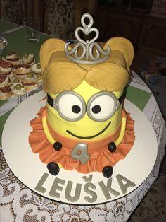 Minion girl (Princess) cake