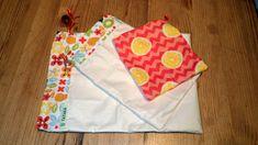 sacs zéro déchet en toile enduite ou coton