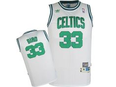 9a4b5f13cb9 Adidas NBA Boston Celtics 33 Larry Bird White Throwback Jersey Basketball  Floor, Basketball Schedule,