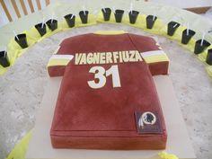 Vagner's birthday cake, #Redskins style!