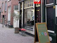 Achterommetje Den Haag cafe