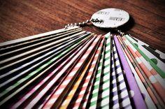 Muestrario · Elegí el papel para la cubierta de tu cuaderno o anotador!