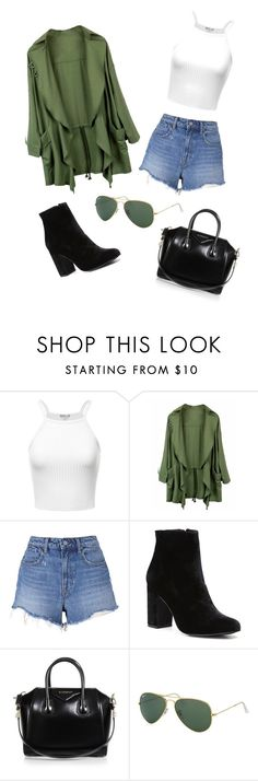 """Street Style"" by annaaav ❤ liked on Polyvore featuring T By Alexander Wang, Witchery, Givenchy, Ray-Ban, GetTheLook, StreetStyle and fashionset"