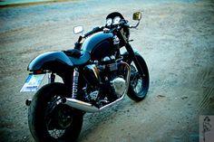 My Triumph Thruxton Cafe Racer