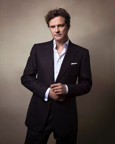 Colin Firth, male actor, celeb, stylish, powerful face, intense eyes, hands, portrait, photo