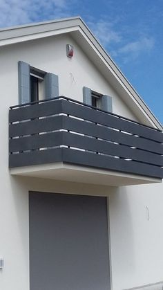 - All About Balcony Balcony Grill Design, Balcony Railing Design, Glass Railing, Fence Design, House Main Gates Design, House Front Design, Outdoor Wall Panels, Balustrades, Modern Staircase