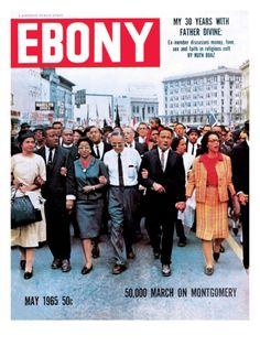Historic Ebony Magazine Covers May 1965