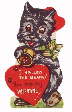 Okay, maybe not Christmas, it's a Vintage Valentine's Scottie - I love them! My first doggie. This is a cute site, a Scottie Dog site.