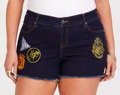 """27 Unique """"Harry Potter"""" Products Even Die-Hard Fans Haven't Seen Before Harry Potter Patch, Hot Topic Harry Potter, Harry Potter Style, Harry Potter Outfits, Soft Grunge Outfits, Grunge Fashion Soft, Grunge Style, Emma Watson, Jean Short Outfits"""