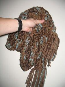 Crochet ~ 90-minute scarves