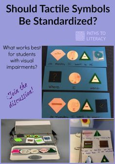 Should tactile symbols be standardized for students with visual impairments or multiple disabilities?