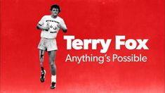 """""""Terry Fox, Anything's Possible"""" minutes) A refreshing documentary that updates Terry Fox's gripping story for today's youth by featuring modern accounts. Teaching Religion, Cancer Support, Raise Funds, Documentaries, Madrid, Youth, Fox, Activities, Running"""