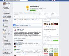 Grup de Facebook sobre la Funció Públia de la Generalitat amb 1008 membres. El grup es diu Funció Pública de la Generalitat de Catalunya