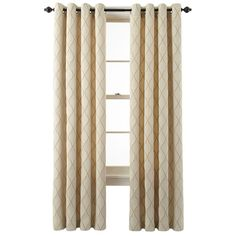 jcpenney - MarthaWindow™ Windsor Wave Grommet-Top Curtain Panel - jcpenney