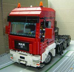 STRANGE LEGO TRUCKS - SEMI CAB