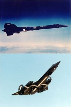 YF-12A Aircraft 60-6936 and 60-6934