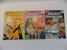 My Greatest Adventure 19 28 33 Vintage DC Comic Book Silver Age LOT of 3