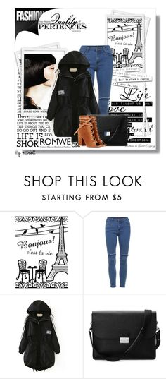 """""""Romwe 12/8"""" by amelaa-16 ❤ liked on Polyvore featuring Aspinal of London, Gianvito Rossi and romwe"""