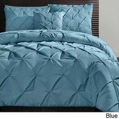 Carmen Comforter Set 4 Piece King Queen Bedroom Bedding Elegant Shams Blanket