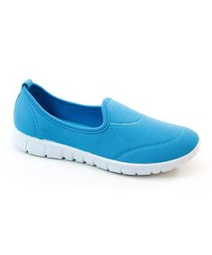 Another great find on #zulily! Turquoise Slip-On Sneaker #zulilyfinds