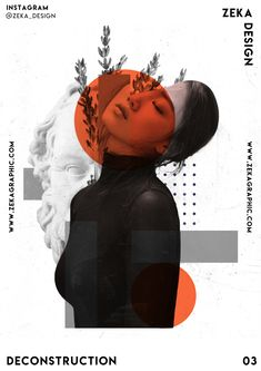 Deconstruction Poster Design 03 Collection Minimalist and Creative Art by Zeka Design