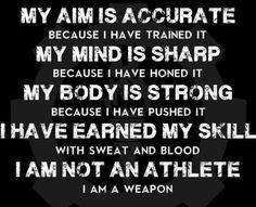 I'm a weapon