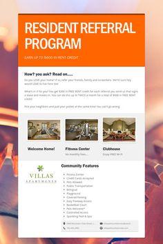 Property Management Referral Flyer