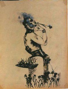 Jean-Luc Verna Illustration, Contemporary Art, Sketch, Pretty, Artists, Modern, Illustrations