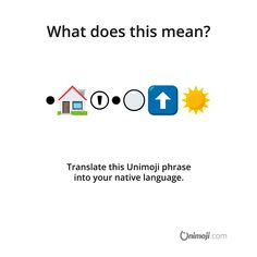What does this Unimoji phrase mean? Translate it into your native language and comment below. 🤔 It's a name of a song, just a hint 😉 Emoji Language, Phrase Meaning, Nativity, Competition, Sunrise, Names, Graphics, Songs, Funny