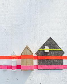 Houses and tape