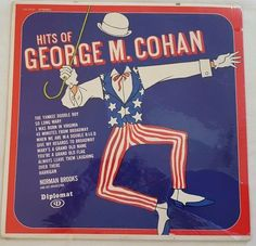 Hits Of George M. Cohan W/ Norman Brooks  Vintage 1968 Record LP 33RPM *SEALED*