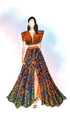 Fashion Design Books, Fashion Design Sketchbook, Fashion Design Portfolio, Fashion Themes, Fashion Poses, Fashion Art, Fashion Sketches, Fashion Illustration Collage, Fashion Illustration Dresses