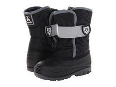 Kamik Kids - Snowbug 3 (Toddler) (Black) Boys Shoes