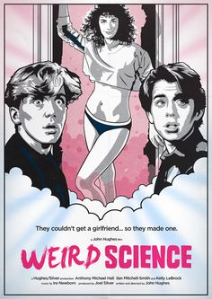 Weird Science Poster by Neil Robinson, via Behance