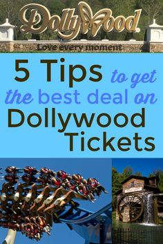 Season Passes vs. Day Tickets - what's the best deal on Dollywood Tickets for my family? Here are your tips for finding the best deal for your visit!