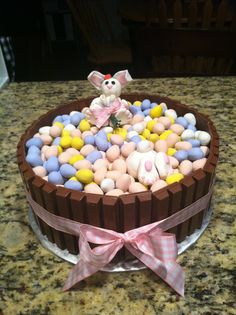 candy barrel cake - just a photo for idea