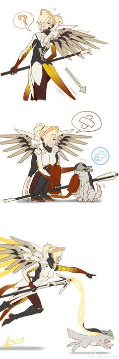 """borealisowl: """" Mercy / SquidSmith """""""