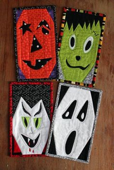 Looking for your next project? You're going to love Calling All Ghouls: Halloween Mug Rugs by designer Barbara Weiland.
