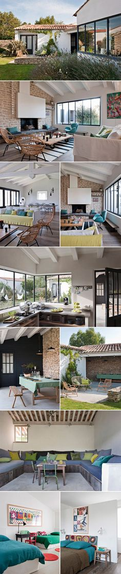 I want my summer house to look like this :) Style At Home, Love Home, My Dream Home, Interior Architecture, Interior And Exterior, Home Living, Home Fashion, Home Projects, Building A House