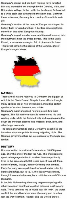 Facts about Germany for kids http://firstchildhoodeducation.blogspot.com/2013/10/facts-about-germany-for-kids.html