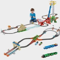 Thomas TrackMaster Great Race Ultimate Gift Set |  Fisher Price http://fave.co/2diCwGU
