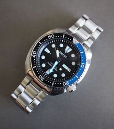 "Seiko Batman ""Turtle"" Diver's Watch"