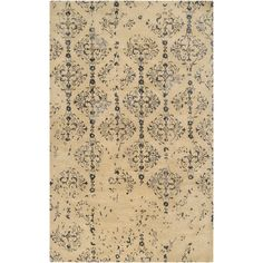 Hand-tufted Contemporary Navy Blue Accented Patterdale New Zealand Wool Abstract Rug (3'3 x 5'3) - Overstock Shopping - Great Deals on 3x5 - 4x6 Rugs