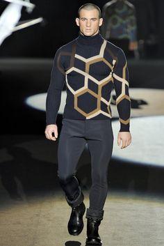Dirk Bikkembergs Fall/Winter 2011-2012 - The Sweater ROCKS!