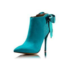 Luis Onofre Turquoise Ankle Boots #Shoes #Heels #Booties #Zapatos
